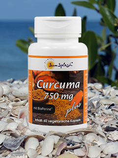 SunSplash Curcuma 750 mg plus
